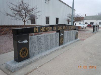 Spencer Ne Veterans Memorial