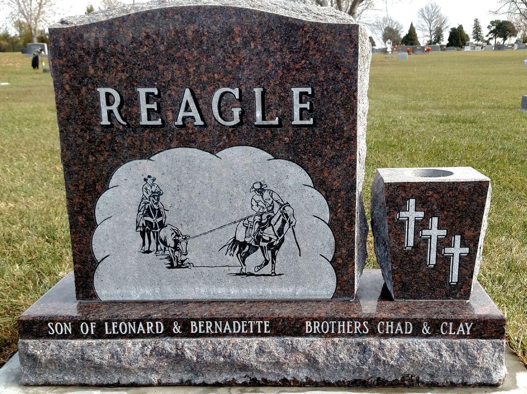 headstone after restoration