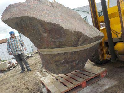 Large Boulder Project